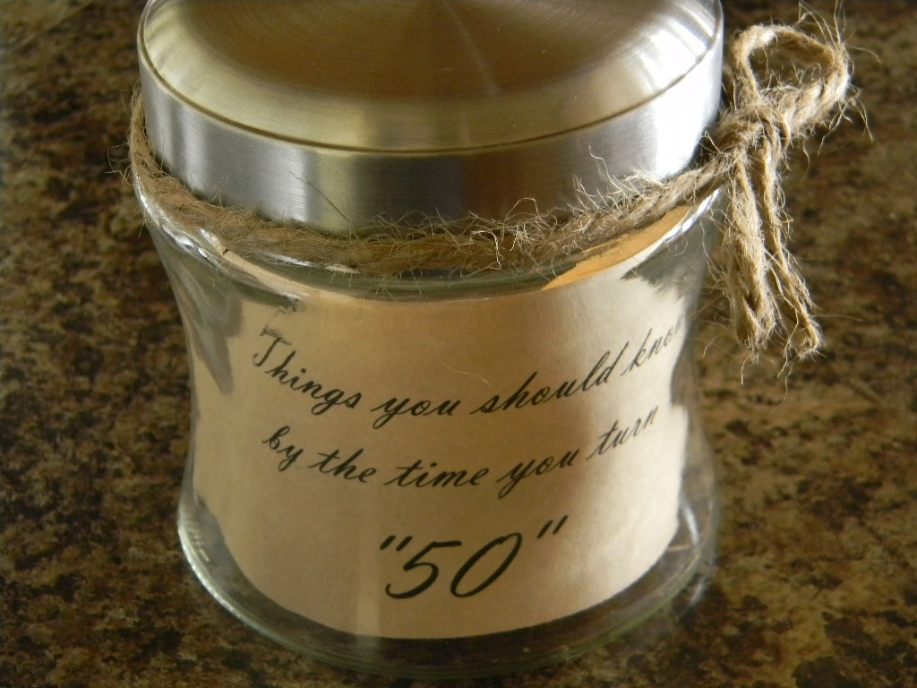 Quotes Jar Glamorous Birthday Quote Jar  My Modern Country